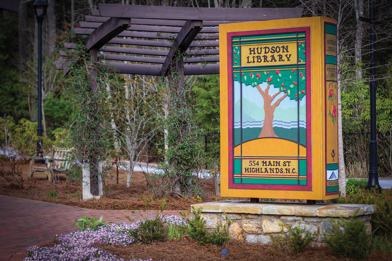 hudson_Library_highlands_North_Carolina