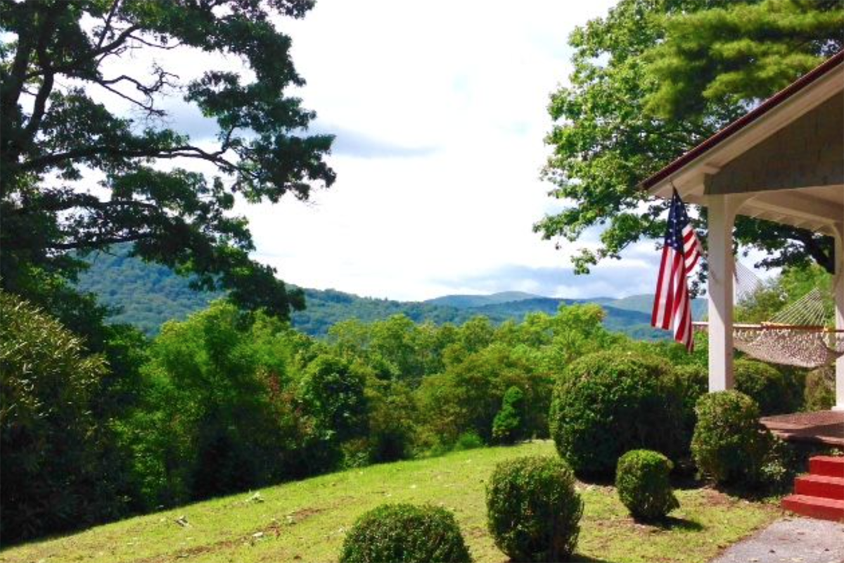 Historical-Highlands-home-for-sale-nc-flag-view