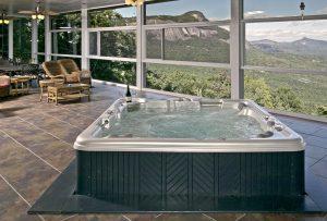 Chateau-rental-Highlands-nc-hot-tub