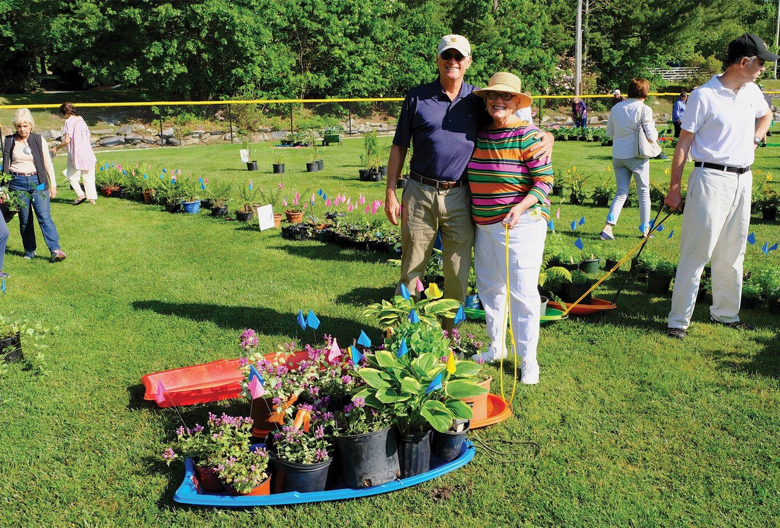 mountain-garden-club-plant-sale-the-highlands-nc-couple