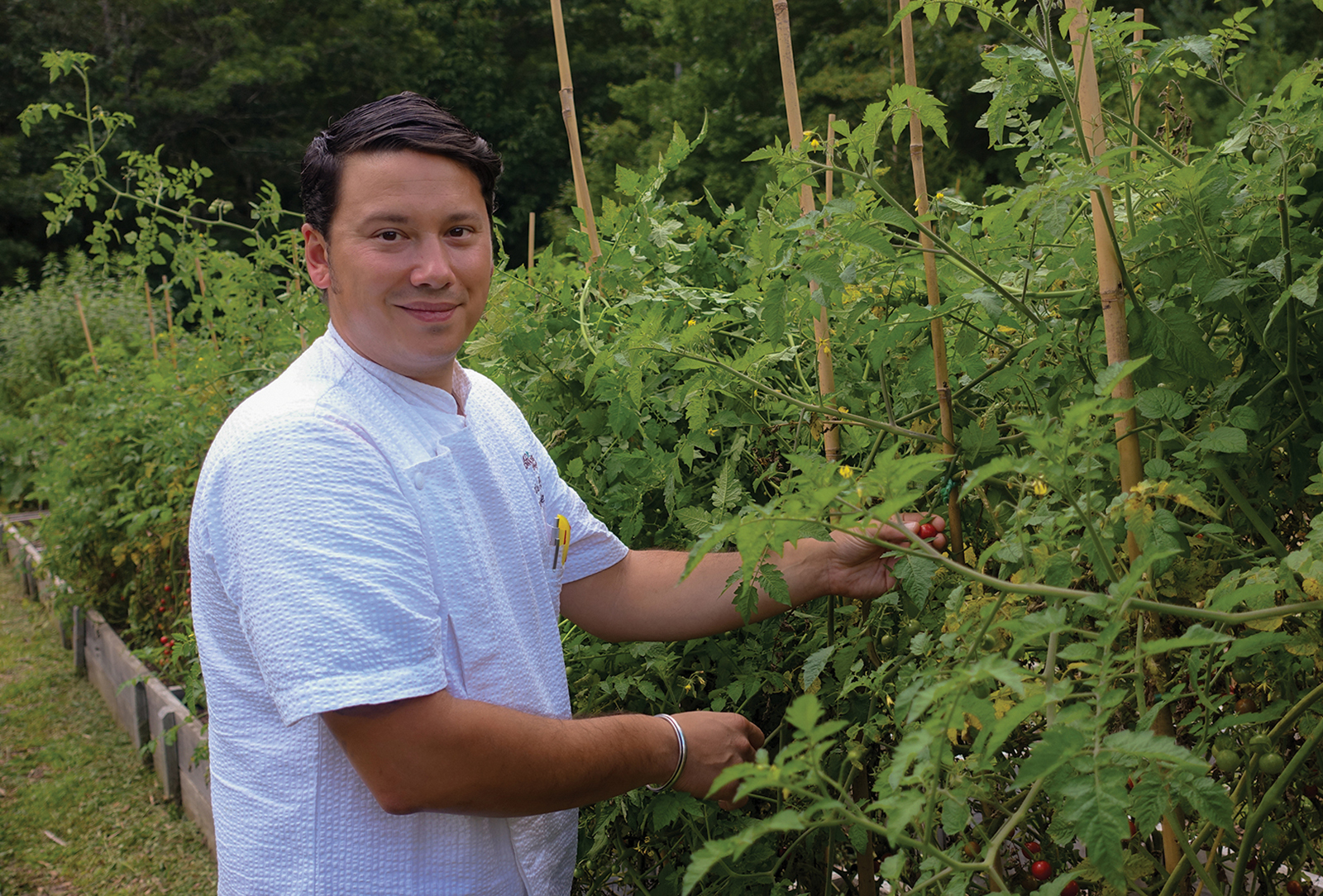 madisons-highlands-nc-chef-chris-huerta-garden