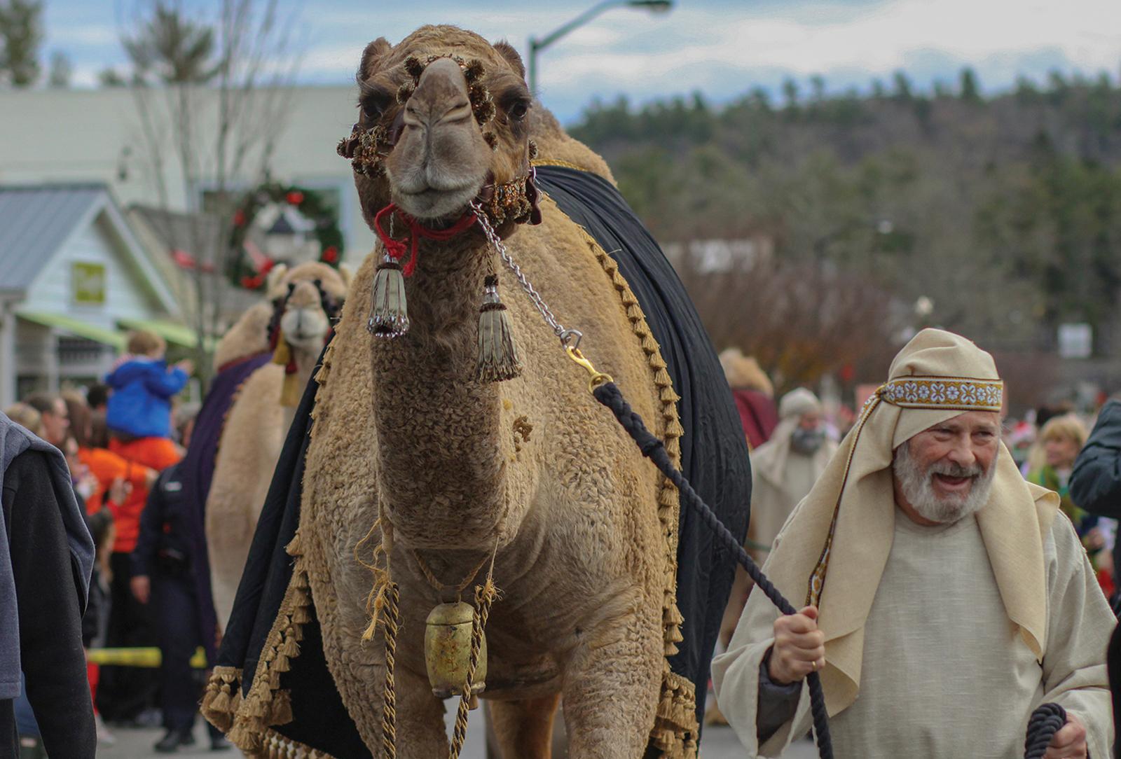 highlands-christmas-parade-nc-camel