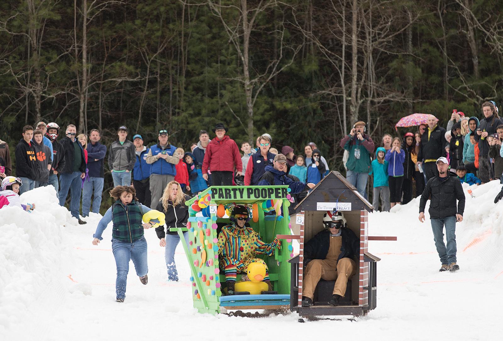 Sapphire NC Outhouse Race
