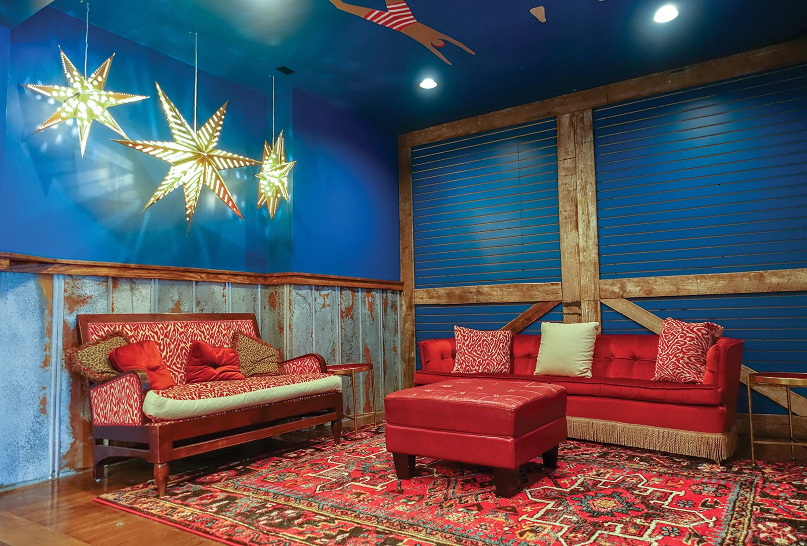 High Dive Lounge Area Highlands NC