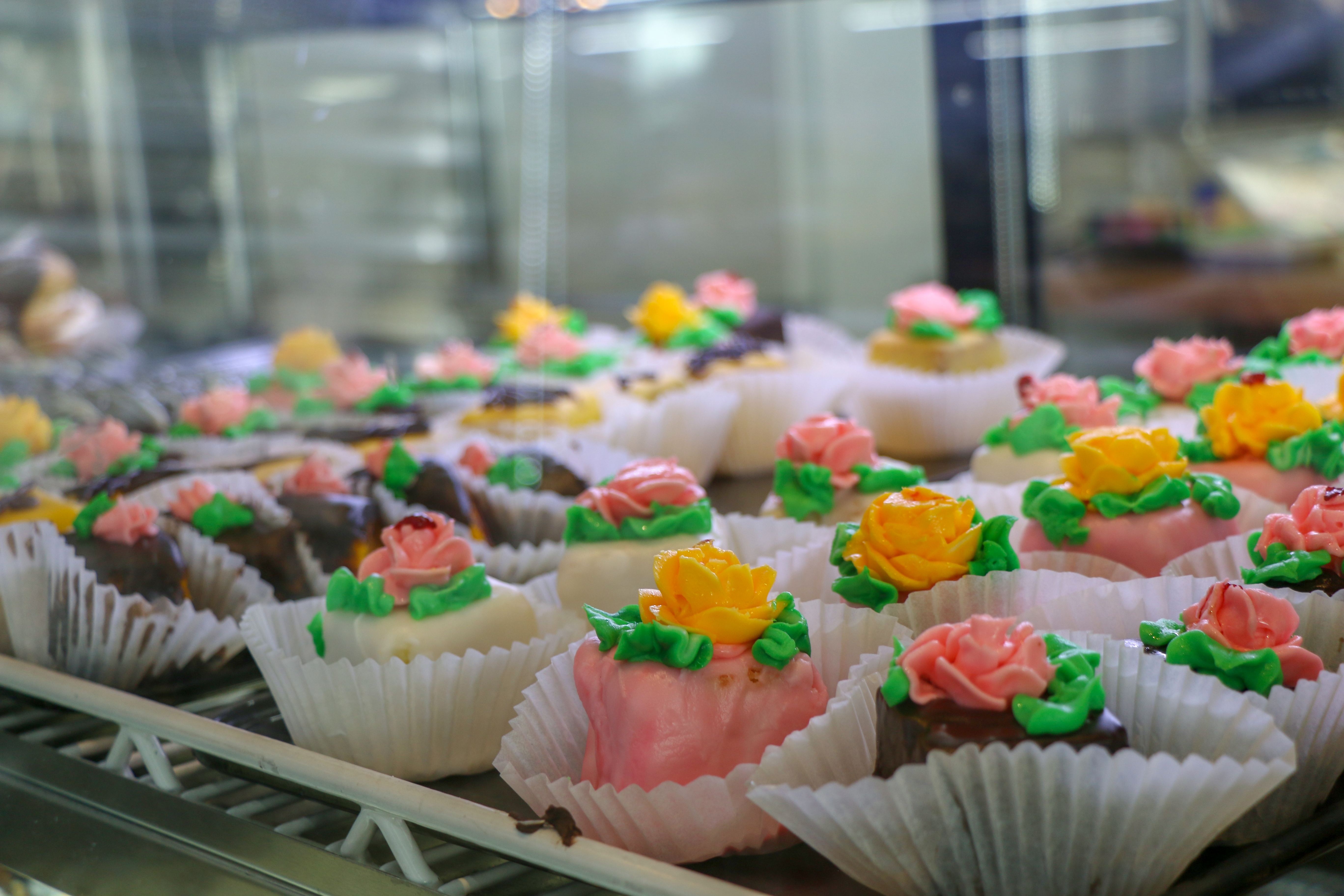 Cupcakes are one of the many options at Mountain Fresh Grocery's bakery.