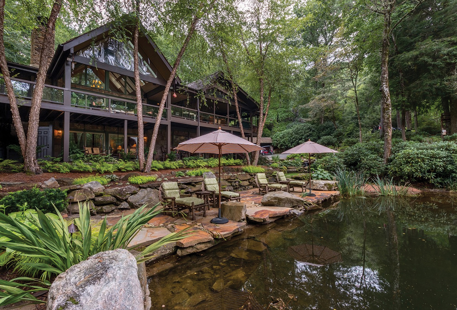 Home for Sale in Sapphire Valley, NC - Exterior