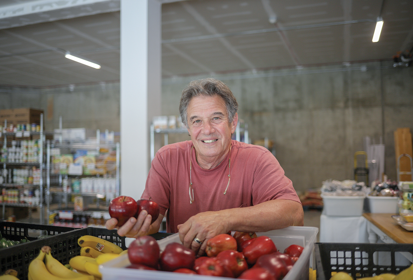 Marty Rosenfield, Food Pantry of Highlands