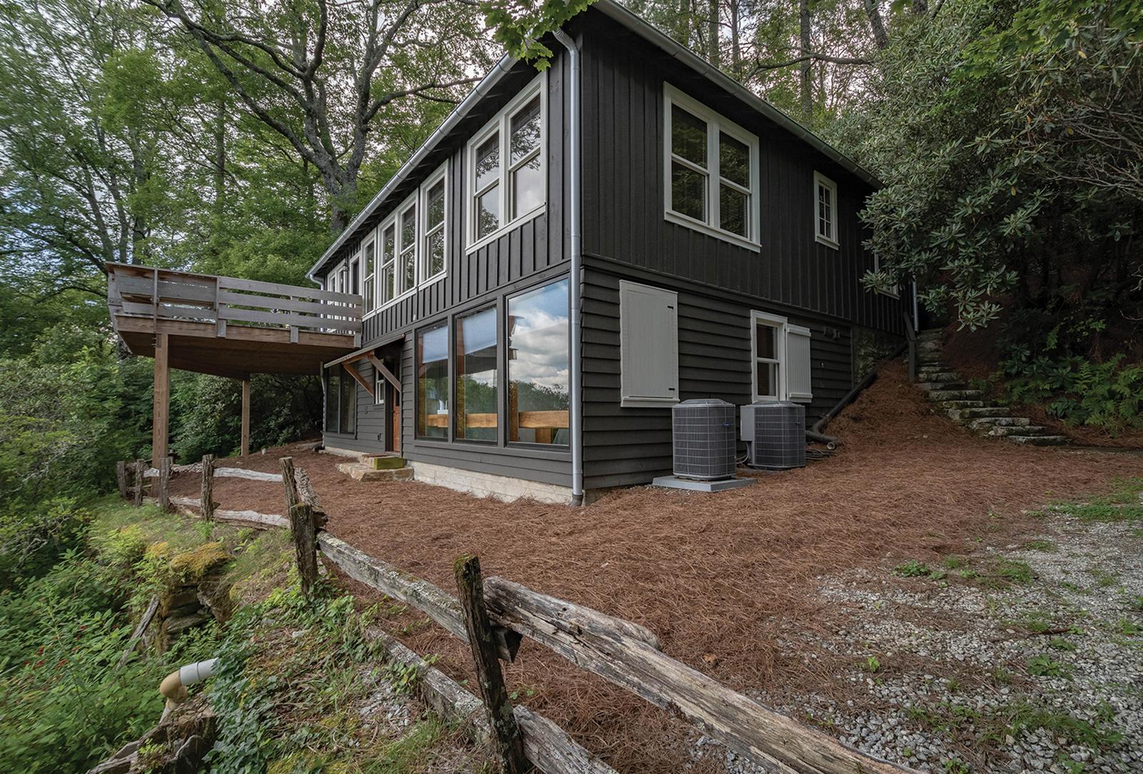 highlands nc home for sale exterior