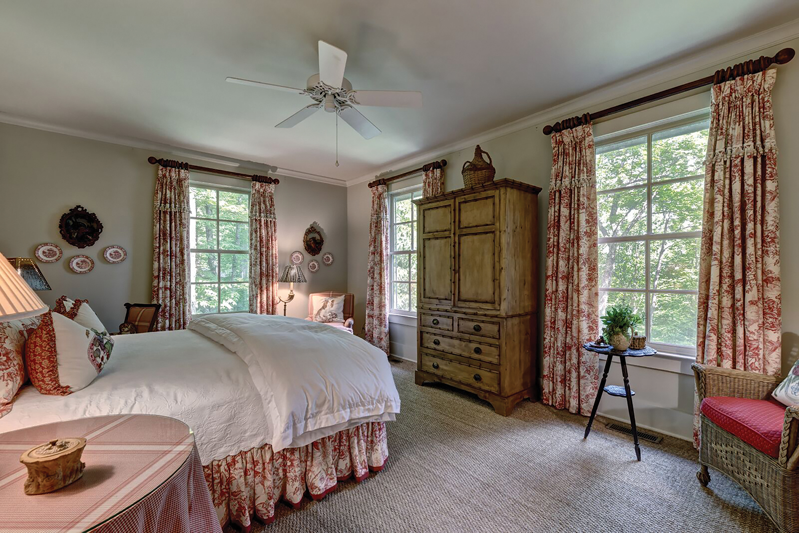 cashiers nc home for sale bedroom one