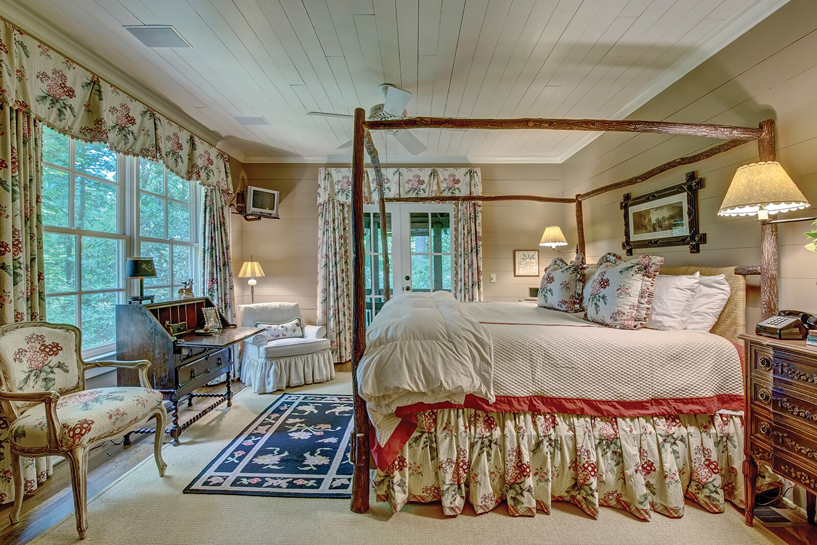 cashiers nc home for sale bedroom two