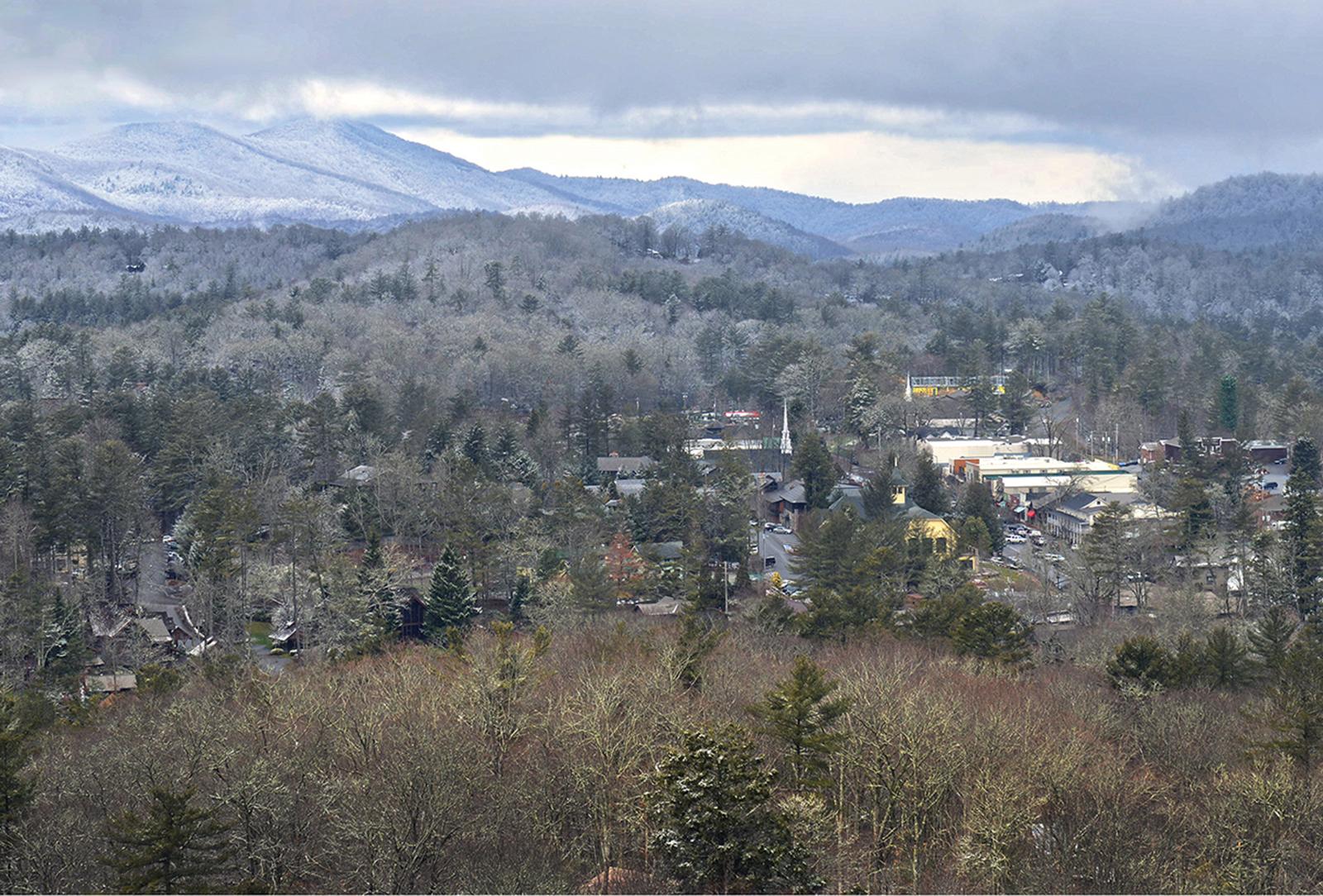highlands nc winter