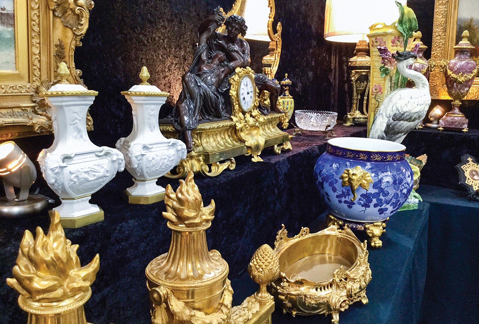 cashiers nc antique silver show close up