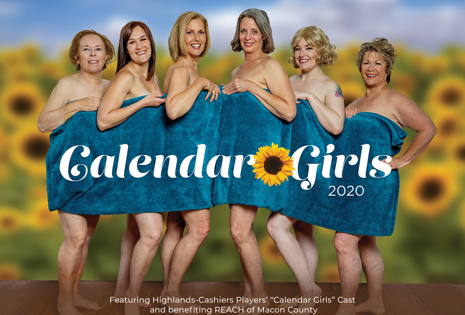 highlands nc calendar girls highlands cashers players reach of macon co