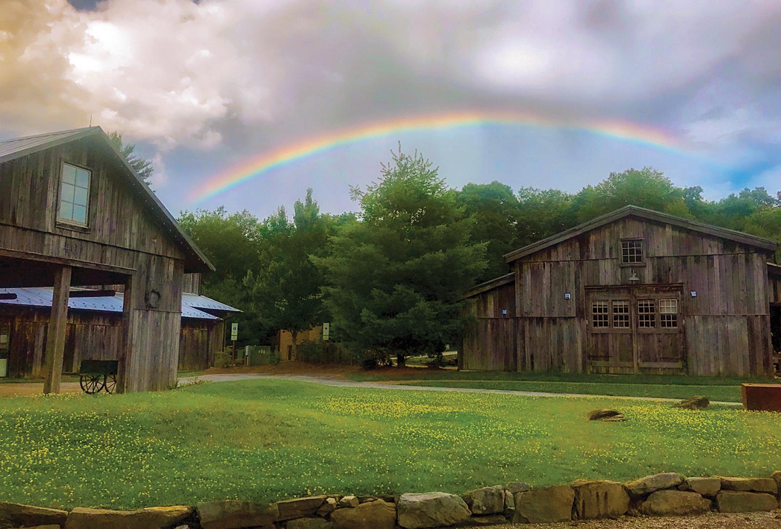 highlands nc the bascom rainbow