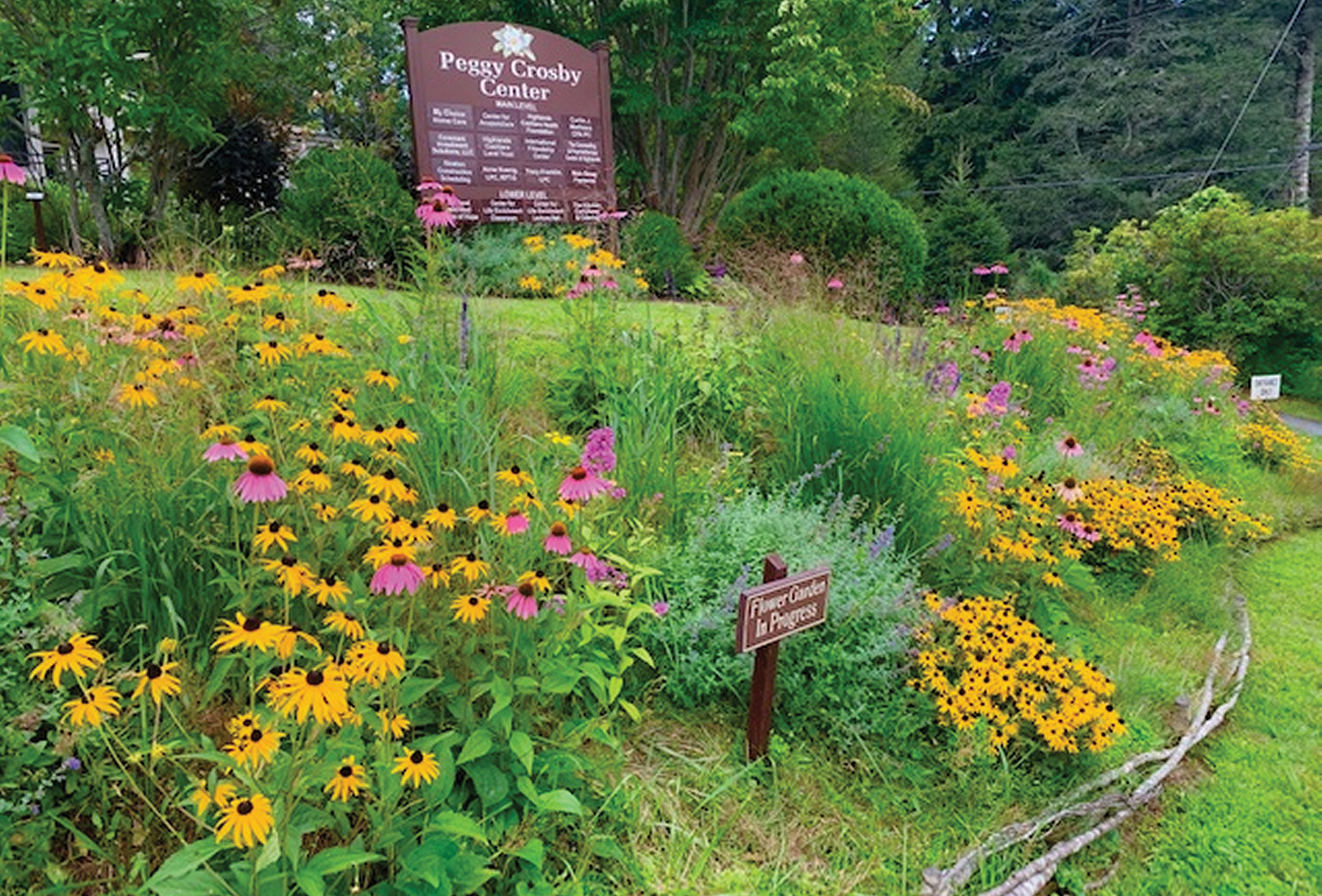 highlands nc peggy crosby center garden