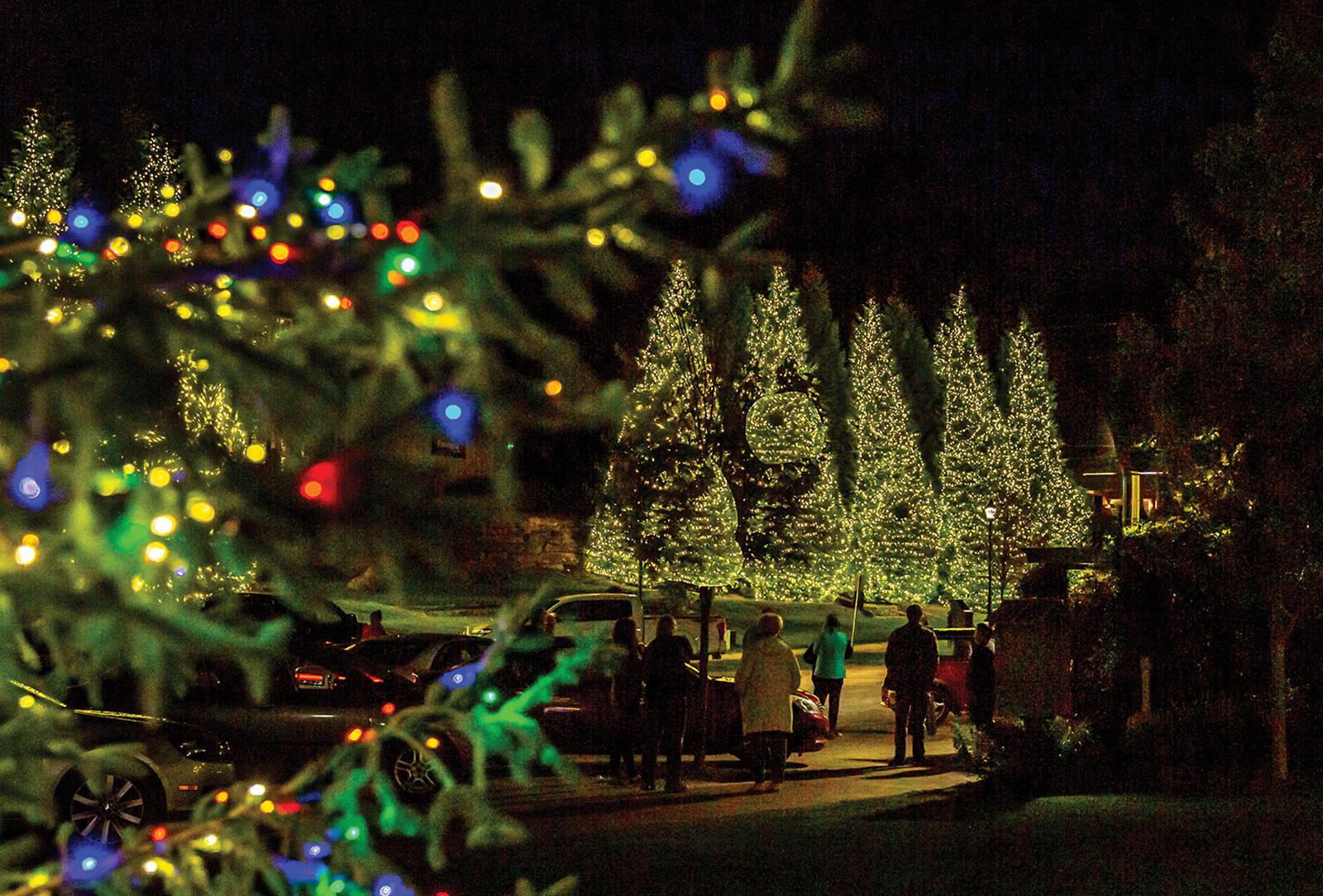 highlands nc christmas tree lighting