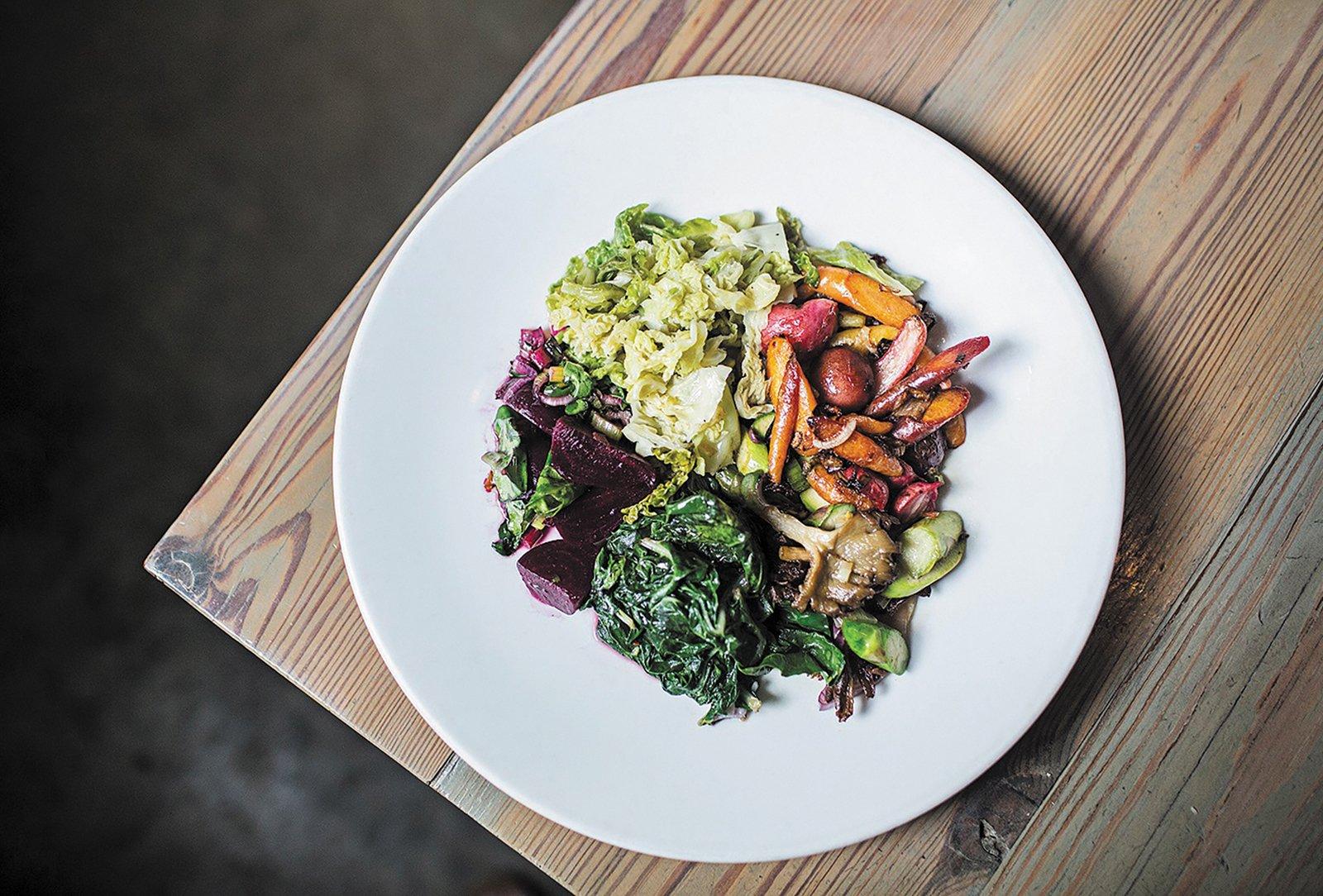 highlands nc old edwards chef dinner vegetable plate