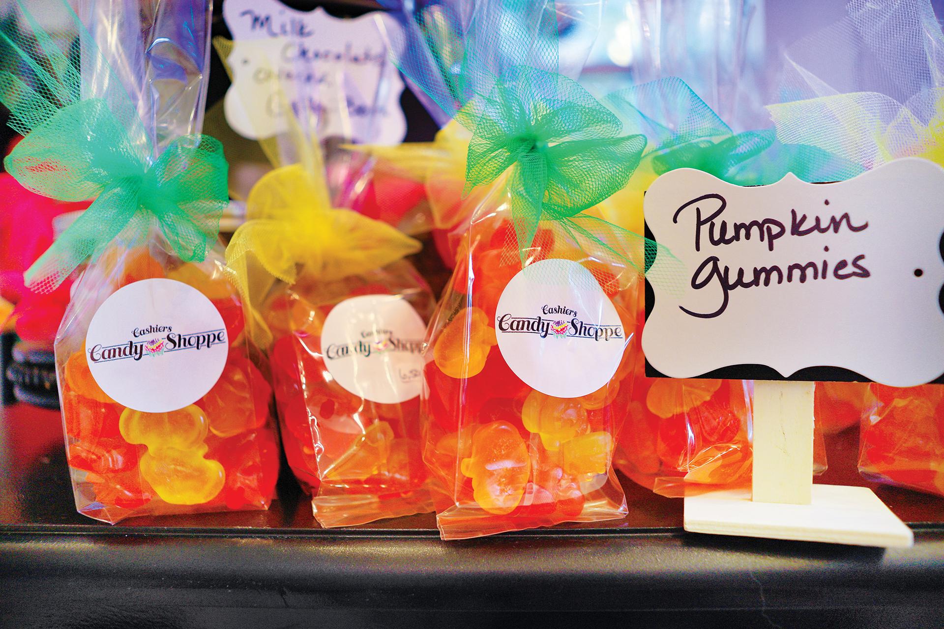 cashiers-nc-shopping-candy-shoppe-pumpkin-gummies