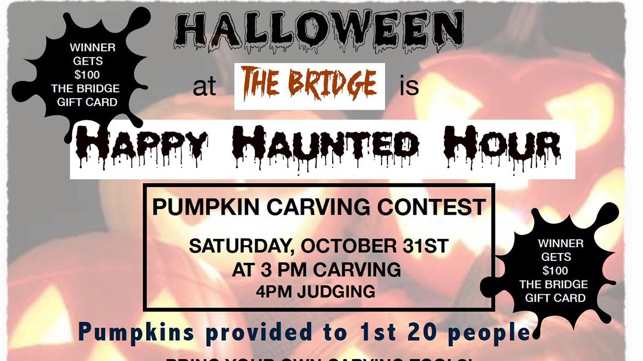 Bridge at Mill Creek Halloween