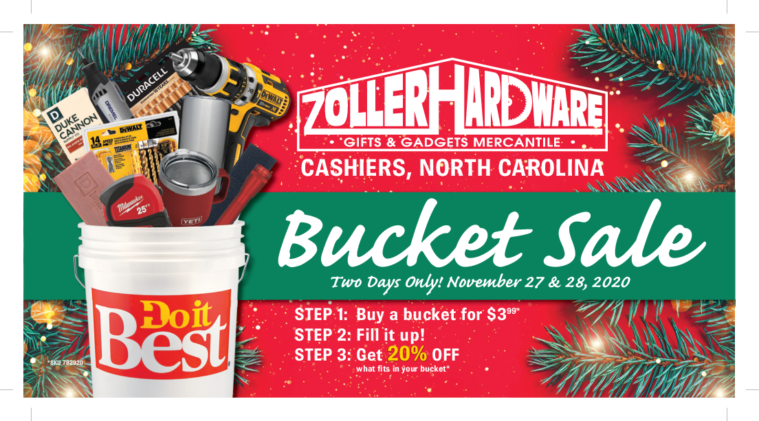Zoller Hardware Thanksgiving Sale