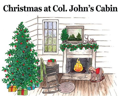 cashiers nc historical society st johns cabin christmas