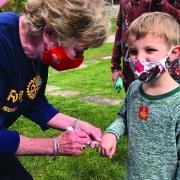 Polio Pinkie Mountaintop Rotary