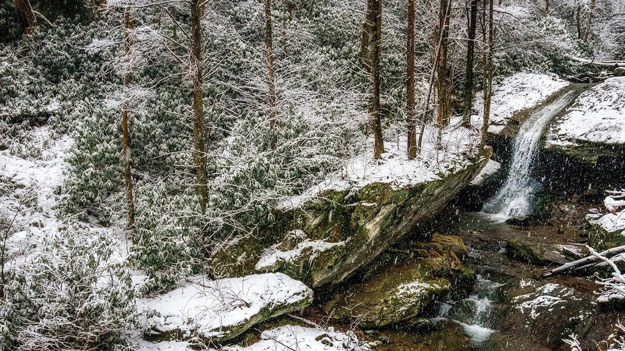 highlands-cashiers-waterfall-winter