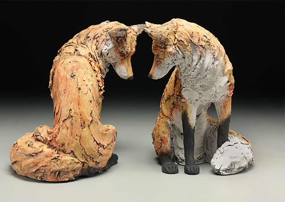 Animal Sculpture class at The Bascom