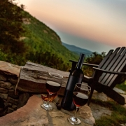 Wine outside highlands cashiers