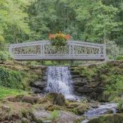 cashiers-nc-joy-garden-tour-bridge-water