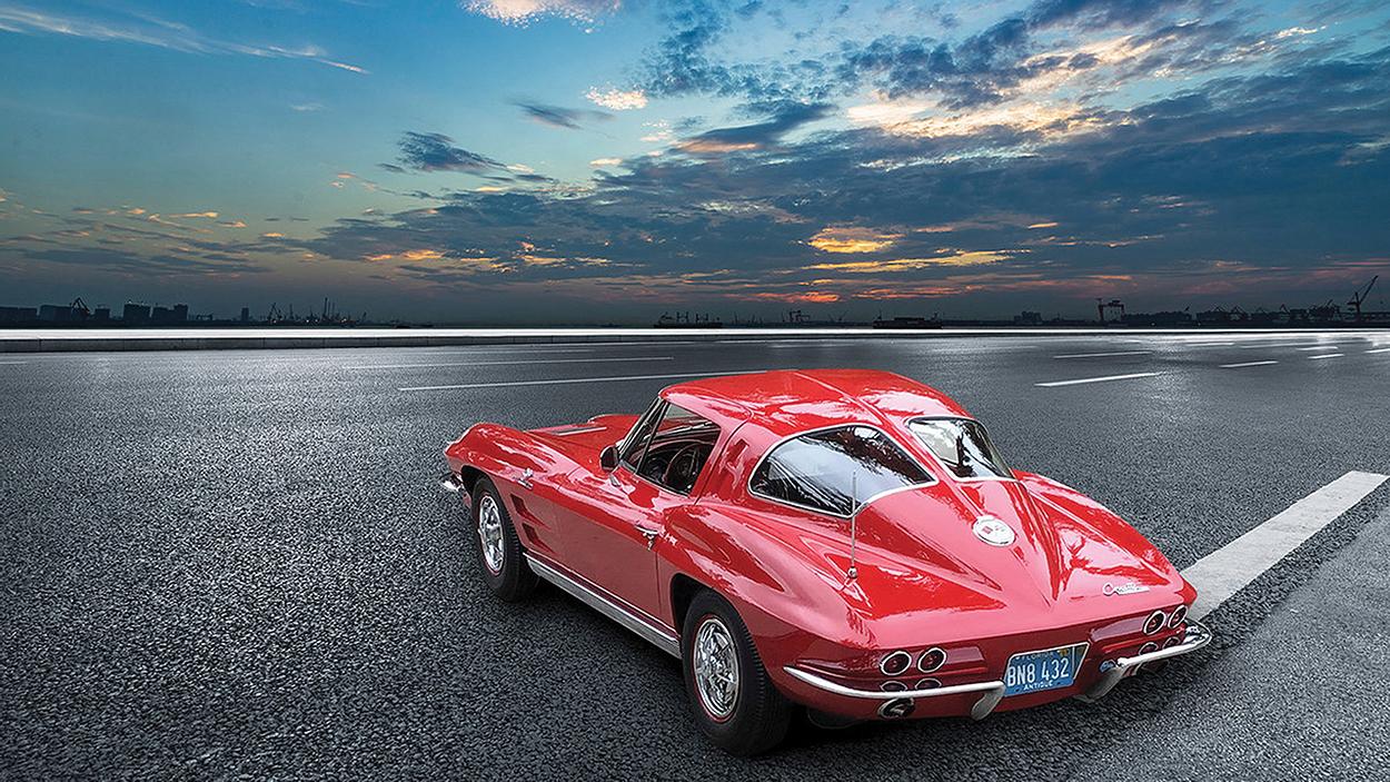 highlands motoring festival 1963 Corvette Split-Window Coupe ]
