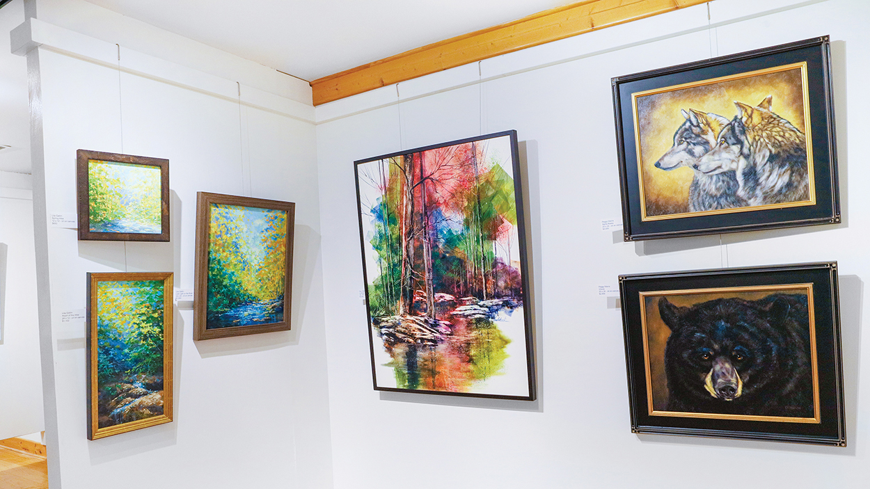 cashiers-nc-ann-lea-art-gallery-section-two