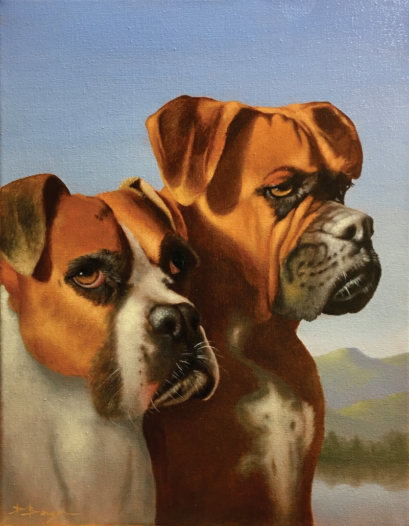 david-berger-cashiers-nc-artist-dogs
