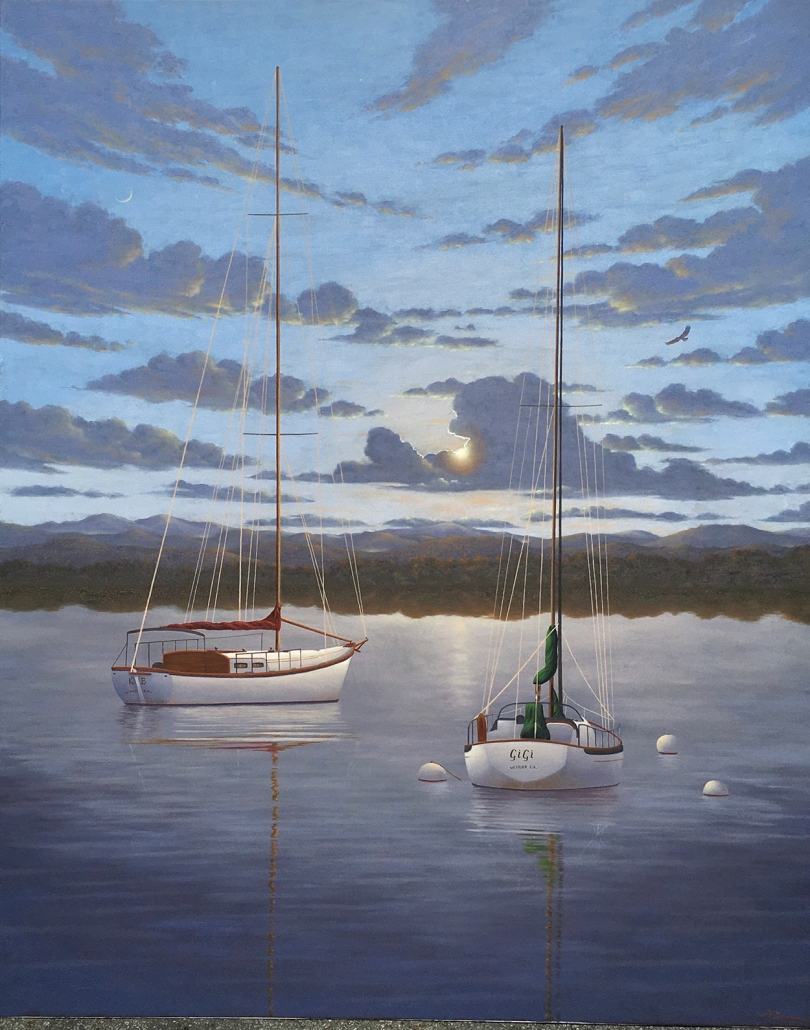 david-berger-cashiers-nc-artist-sail-boat
