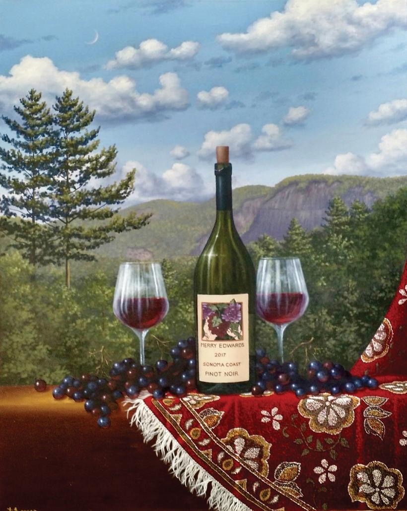 david-berger-cashiers-nc-artist-wine