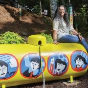 Yellow Submarine artist Jeanie Edwards
