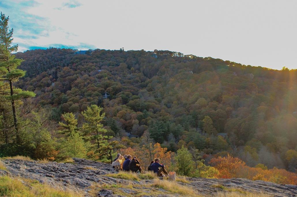 highlands-cashiers-land-trust-fall-mountaintop